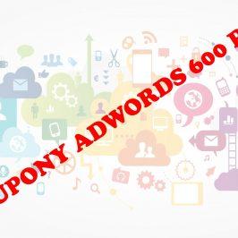 Kupony Google AdWords do 600 zł