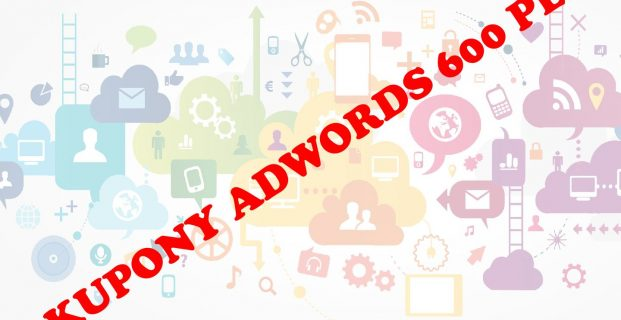Kupony Google AdWords do 600 zł