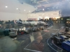 zachód słońca Dublin lotnisko