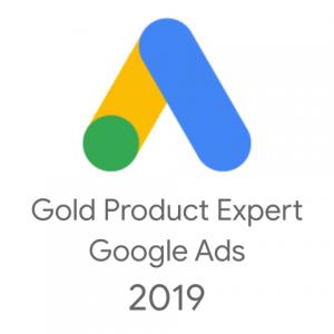 Złoty Ekspert Produktowy na Forum Google Ads 2019